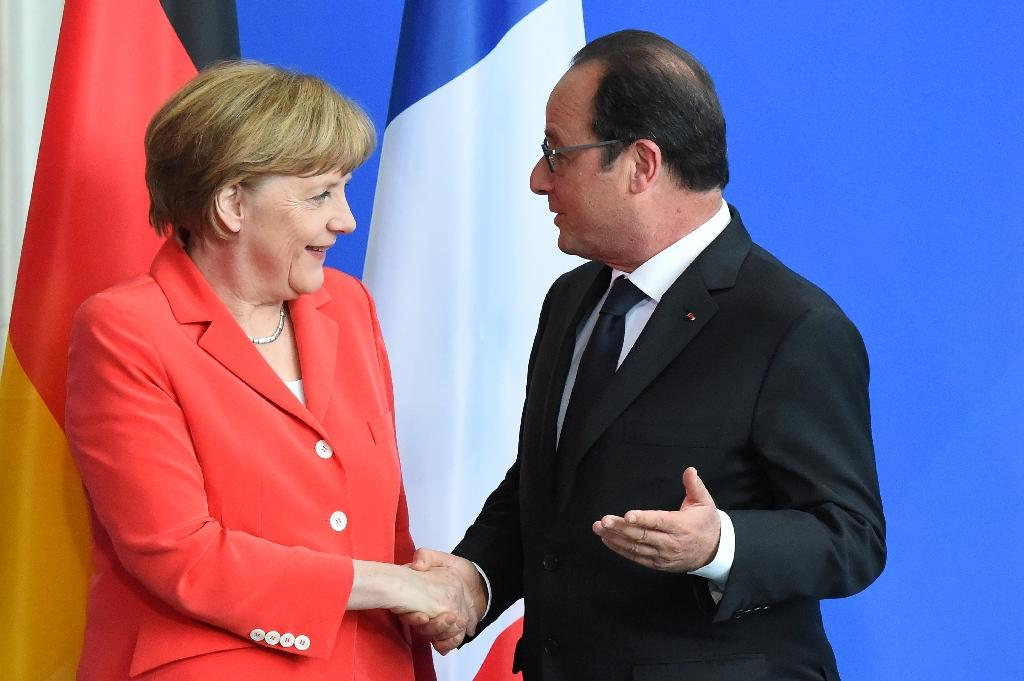 Merkel, Hollande to discuss future of EU as Brexit looms