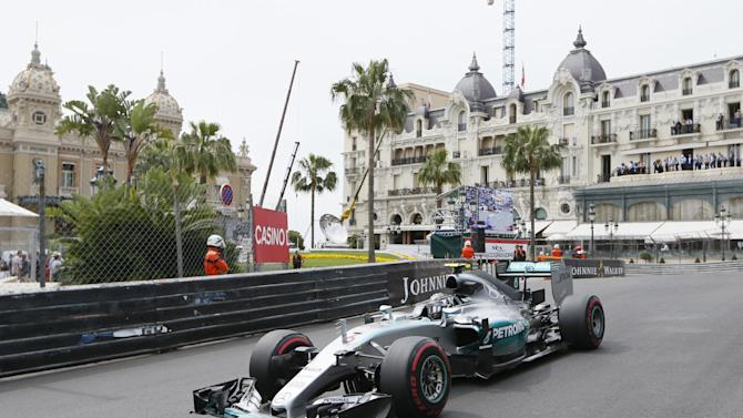 Formula One - F1: Nico Rosberg of Mercedes during practice before qualifying