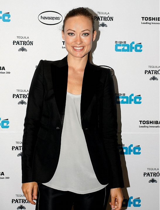 Olivia Wilde at the WIRED Cafe at Comic-Con on July 23, 2009 in San Diego, California. 