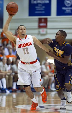 No. 8 Syracuse tops California 92-81 in Maui