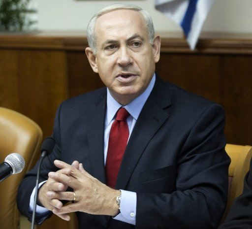 Israeli Prime Minister Benjamin Netanyahu, pictured on September 9, ordered an advance payment of tax money to the Palestinian Authority, currently undergoing financial difficulties, the premier&#39;s office said on Tuesday