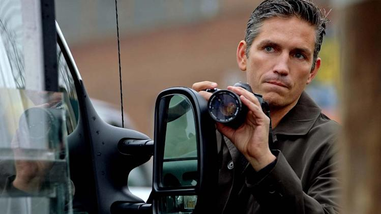 "James Caviezel in ""Person of Interest."""
