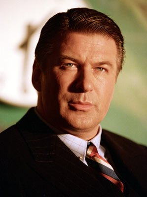 Alec Baldwin as Pan Am head, Juan Trippe, in Miramax Films' The Aviator