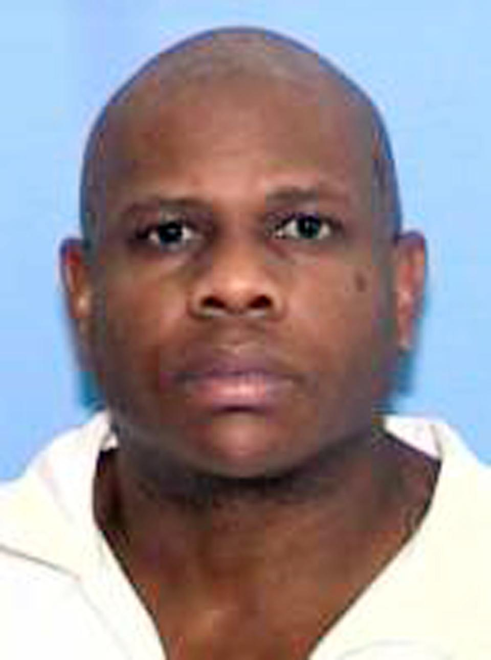 This undated photo provided by the Texas Department of Public Safety shows Charles Brownlow Jr. Brownlow was arrested early Tuesday, Oct. 29, 2013, as a suspect in a case where five people were killed in a string of slayings across Terrell, Texas. (AP Photo/Texas Department of Public Safety)