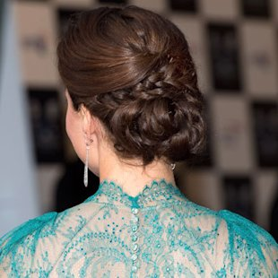 Kate Middleton: In Detail Plaits: Hair Ideas: Beauty