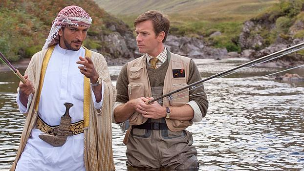 "This image released by CBS Films shows Ewan McGregor in a scene from the film, ""Salmon Fishing in the Yemen."" The film was nominated for a Golden Globe for best comedy or musical, Thursday, Dec. 13, 2012. McGregor was nominated for best actor in the film. The 70th annual Golden Globe Awards will be held on Jan. 13. (AP Photo/CBS Films)"