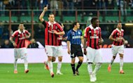 Inter Milan vs AC Milan: Milito dan Ibra Dua Gol, Skor 2-2