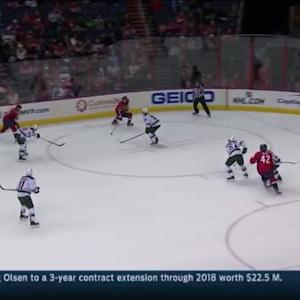 Devan Dubnyk Save on Jason Chimera (18:58/2nd)