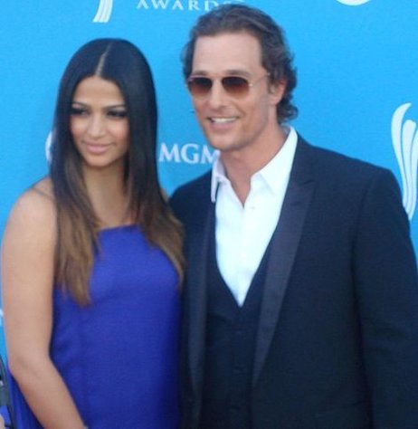 Matthew McConaughey has been busy dropping pounds.