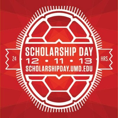 The University of Maryland is hosting its first-ever Scholarship Day of Giving on Dec. 11, 2013.