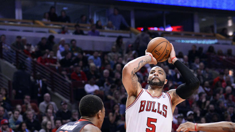 NBA: Toronto Raptors at Chicago Bulls