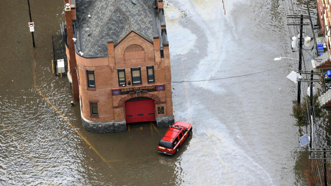 Guard evacuates people, takes in food to NJ city