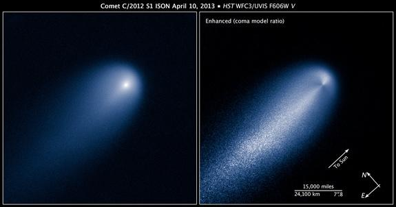 Hubble Telescope Photographs Potential 'Comet of the Century'