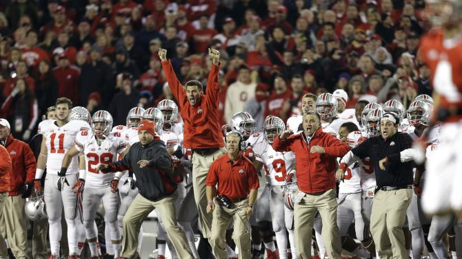 Ohio State Buckeyes v Wisconsin Badgers