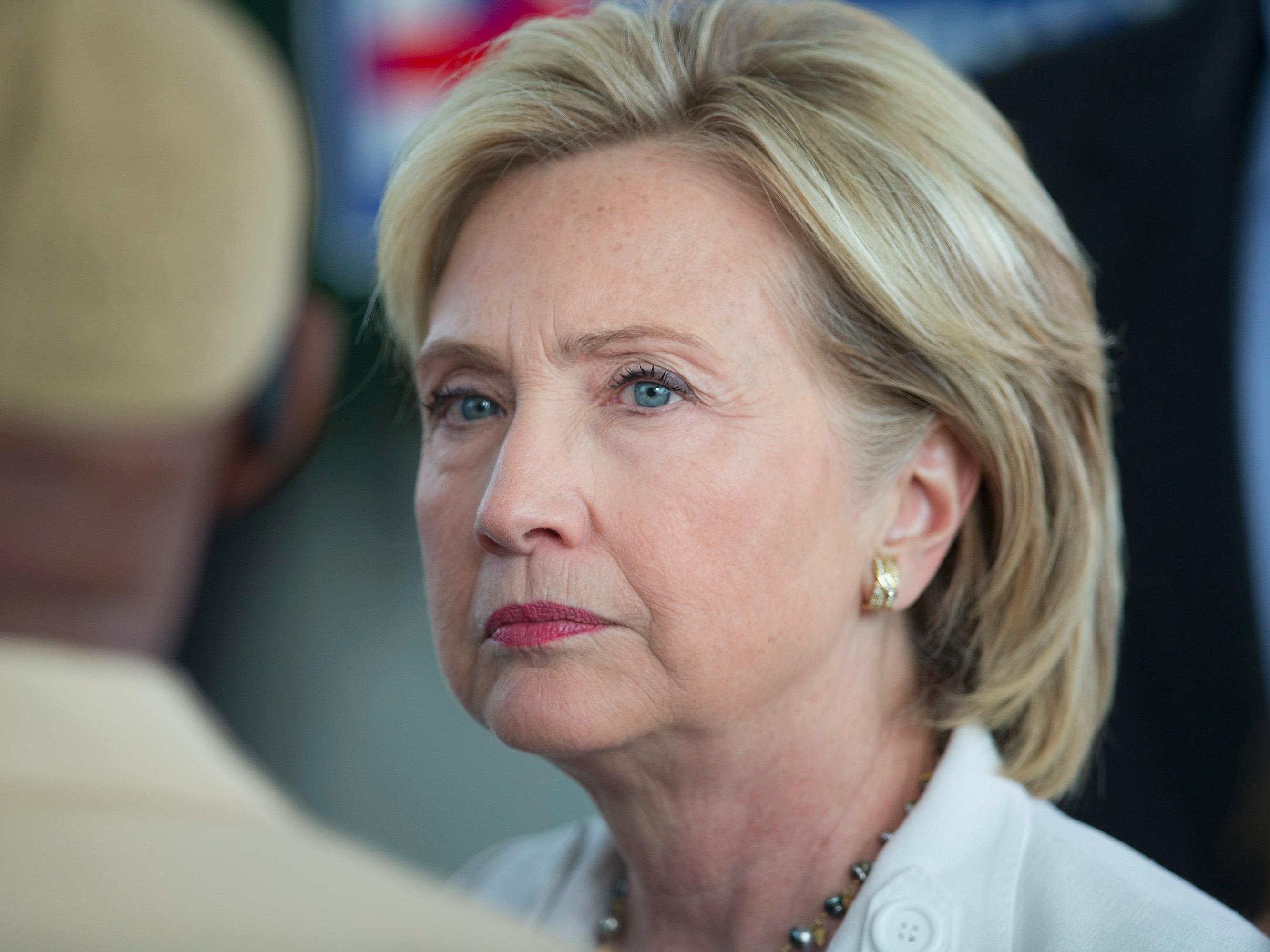Hillary Clinton's support in a key, early state is suddenly crumbling