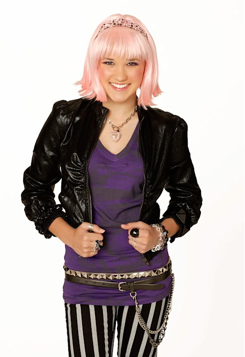 "Emily Osment stars as Lola in ""Hannah Montana."""
