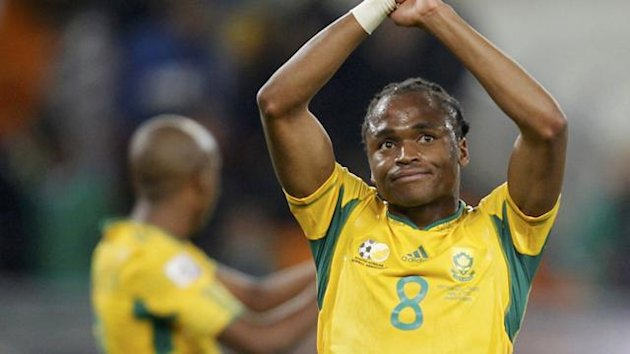 2010 World Cup South Africa&#39;s Siphiwe Tshabalala