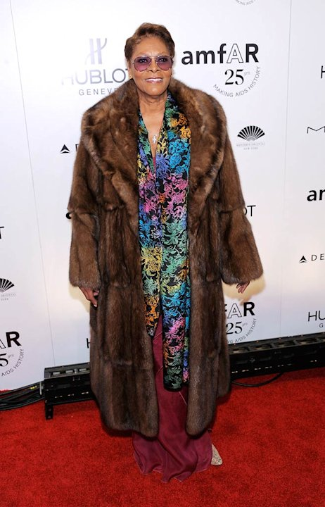 Dionne Warwick amfAR Event