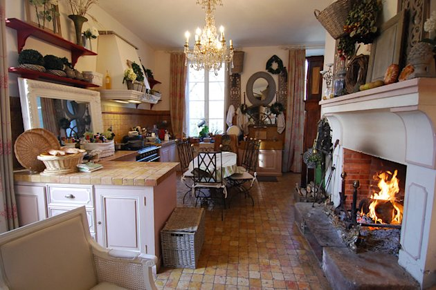 Chateau on the cheap provencal farmhouse interior