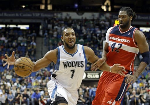 Rubio rallies Wolves to 87-82 win over Wizards