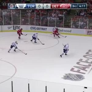Maple Leafs at Red Wings / Game Highlights