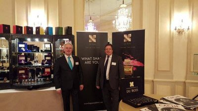 Fragrance Du Bois and Asia Plantation Capital Chief Executive Officer, Gary Crates and Asia Plantation Capital Geneva Channel Manager, Patrick Castagn...