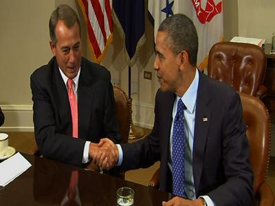 Obama, Congressional leaders meet to avoid cliff