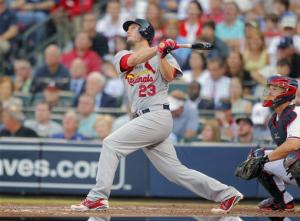 Cardinals beat Braves 6-3 in disputed wild card