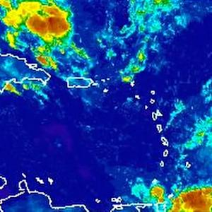 TROPICAL STORM BERTHA MOVING