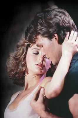 Jennifer Grey and Patrick Swayze in Lions Gate Home Entertainment's Dirty Dancing