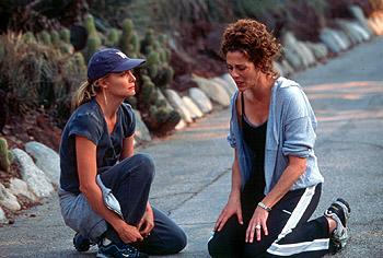 Michelle Pfeiffer and Rita Wilson in Universal's The Story Of Us