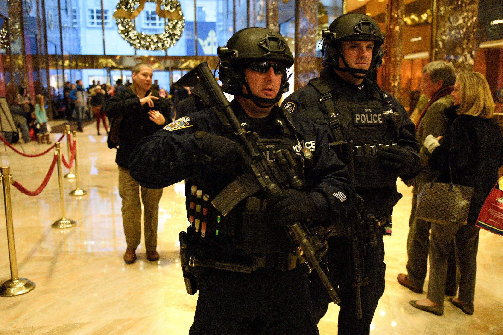 New York asks U.S. government for $35 million in Trump security costs