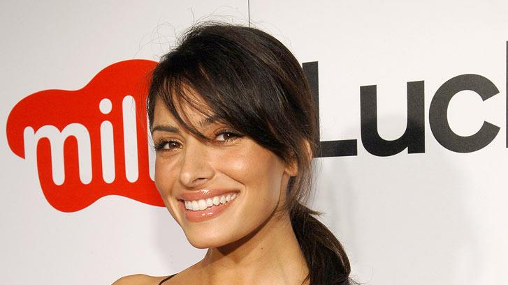 Sarah Shahi of Life at the Lucky Magazine Hosts Party to Celebrate LA Shopping Guide at Milk Boutique.