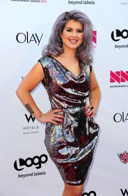 Kelly Osbourne shines at Logo's 'NewNowNext Awards' 2012 at Avalon in Hollywood, Calif. on April 5, 2012 -- Getty Images
