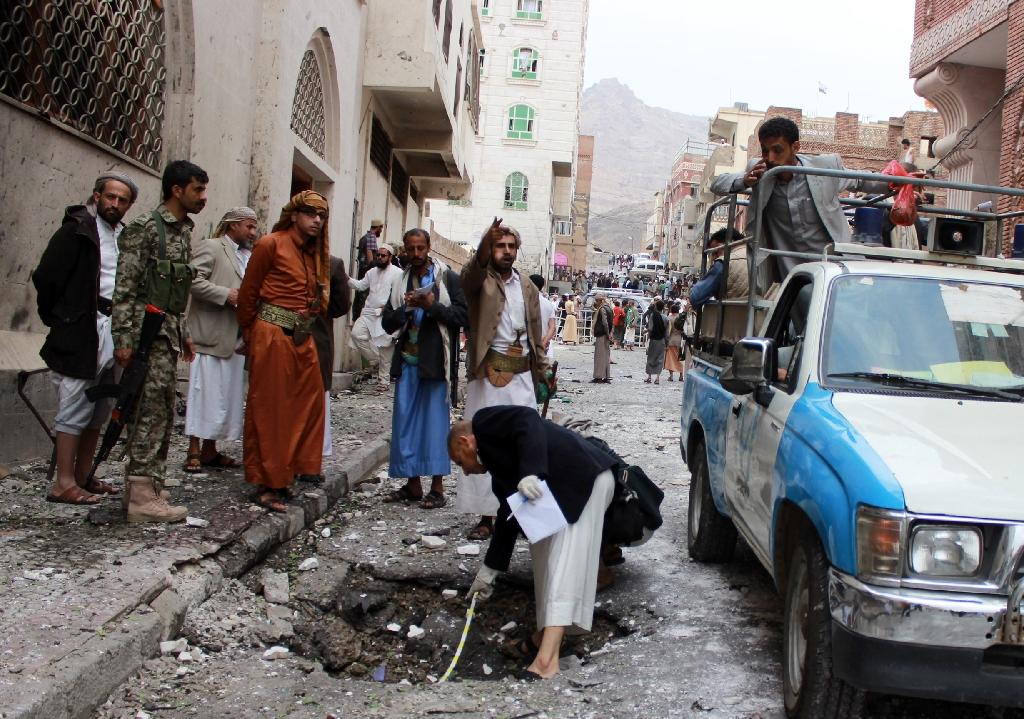 Car bomb explodes in rebel-held Yemen capital