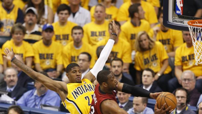 Miami Heat v Indiana Pacers - Game 1