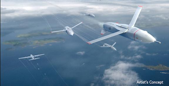 Fairy-Tale-Inspired 'Gremlin Drones' Could Spy in Swarms