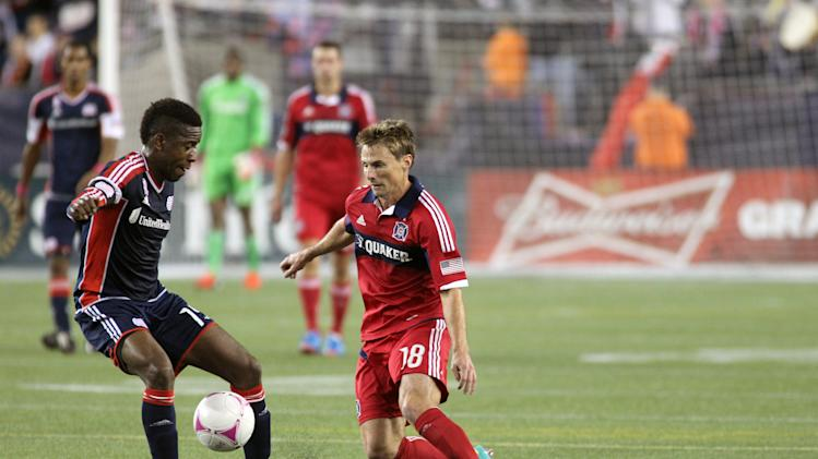 MLS: Chigago Fire at New England Revolution