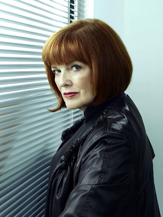 "Blair Brown returns as Nina Sharp in ""Fringe."""