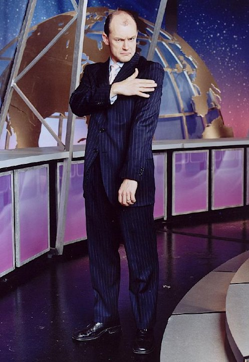 Robert Coddry performs in The Daily Show on Comedy Central.