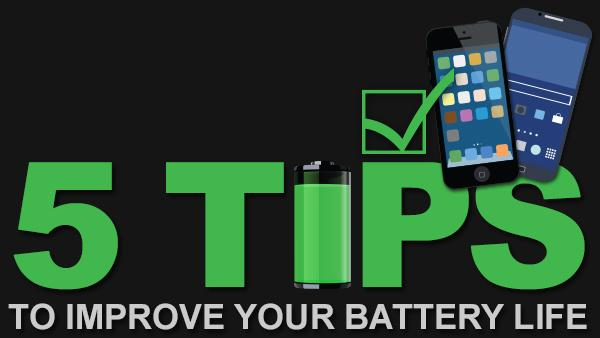 5 Tips to Make Your Smartphone Battery Last Longer