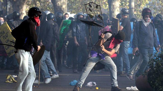 Coordinated protests against budget cuts across Europe