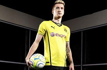 Reus buoyed by new Dortmund kit