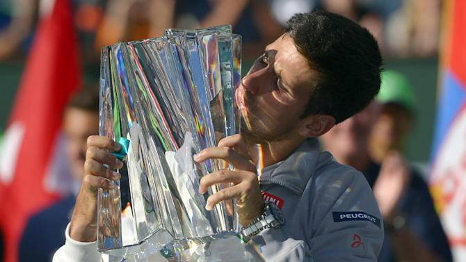 Djokovic beats Federer to win Indian Wells title