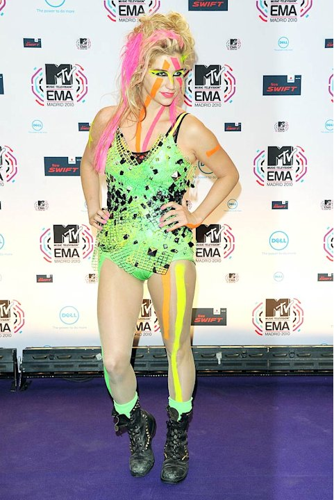 Kesha MTV Euro Awards