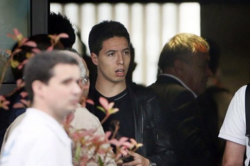 Samir Nasri arrives at Le&nbsp;&hellip;
