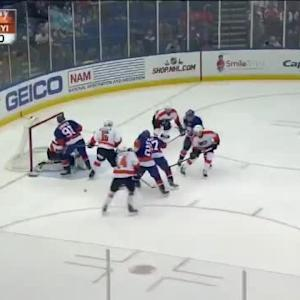 Steve Mason Save on Brian Strait (03:23/1st)