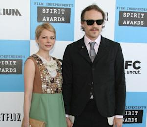 Heath Ledger and Michelle Williams at the 2007 Independent Spirit Awards -- Getty Images