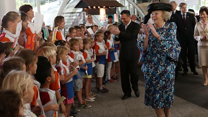 Queen Beatrix Visits Singapore