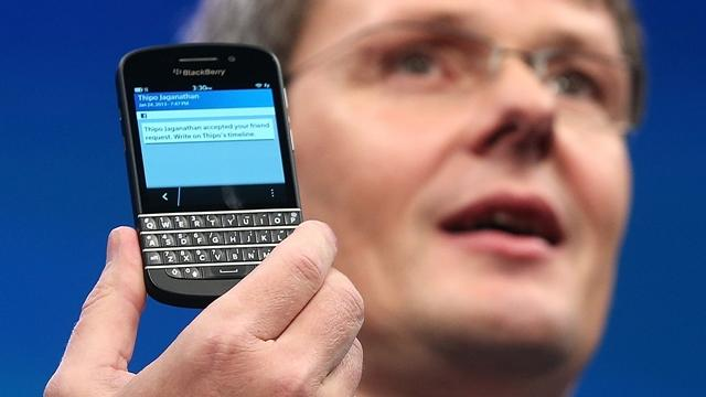BlackBerry 10's new features